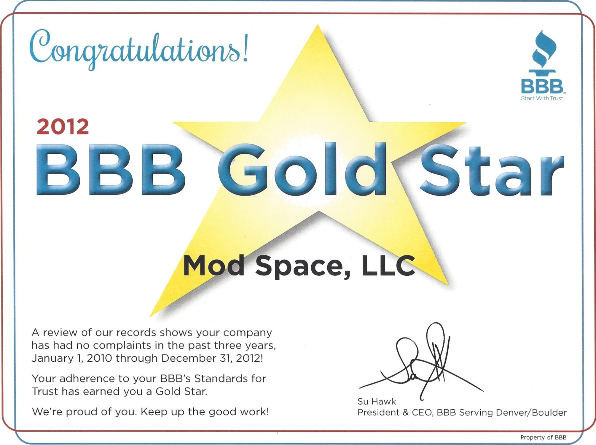 BBBGoldStar2012